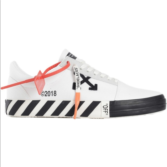 dbcb953d Off-White Shoes | Authentic Offwhite Vulc Low Sneakers | Poshmark